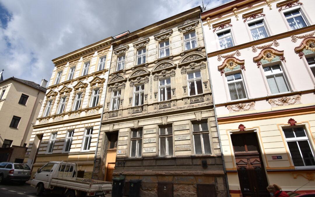 č. 1039:Prodej činžovního domu – ul. Jiřího Wolkera, TepliceCena: 9 700 000 Kč