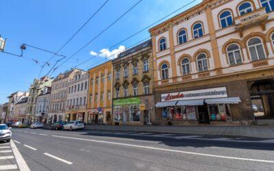 č. 1041:Pronájem komerčního prostoru, Teplice – centrumCena: Pronajato